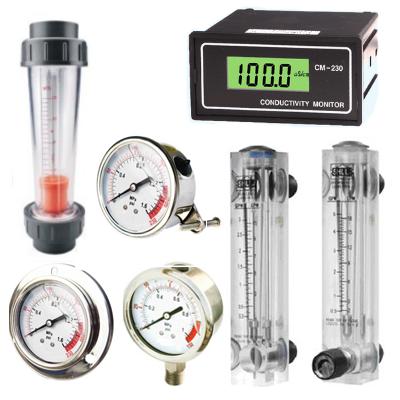 Meters, Flowmeters & Gauges
